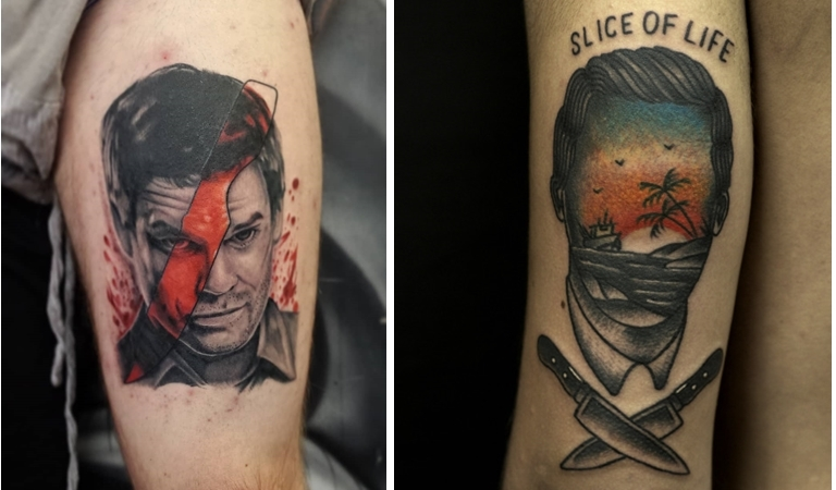 15 Gorgeous Dexter Tattoos That'll Make You Get Inked