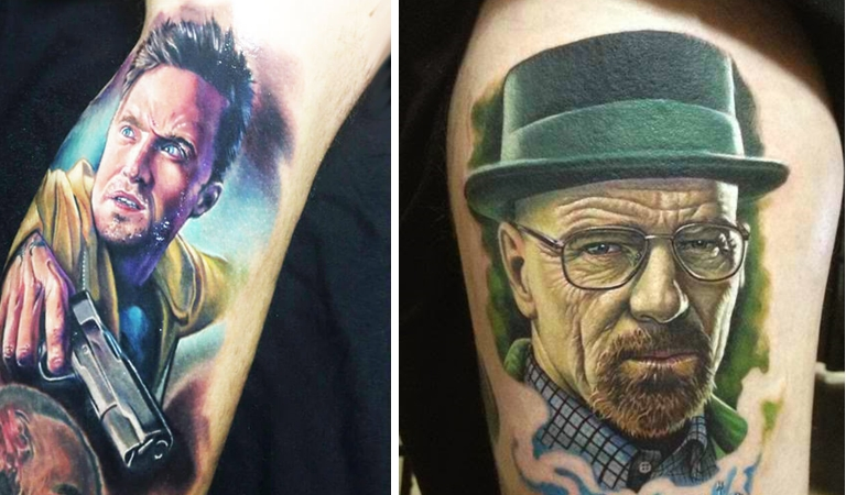 "15 Best Breaking Bad Tattoos That'll Make You Say ""I Want That"""